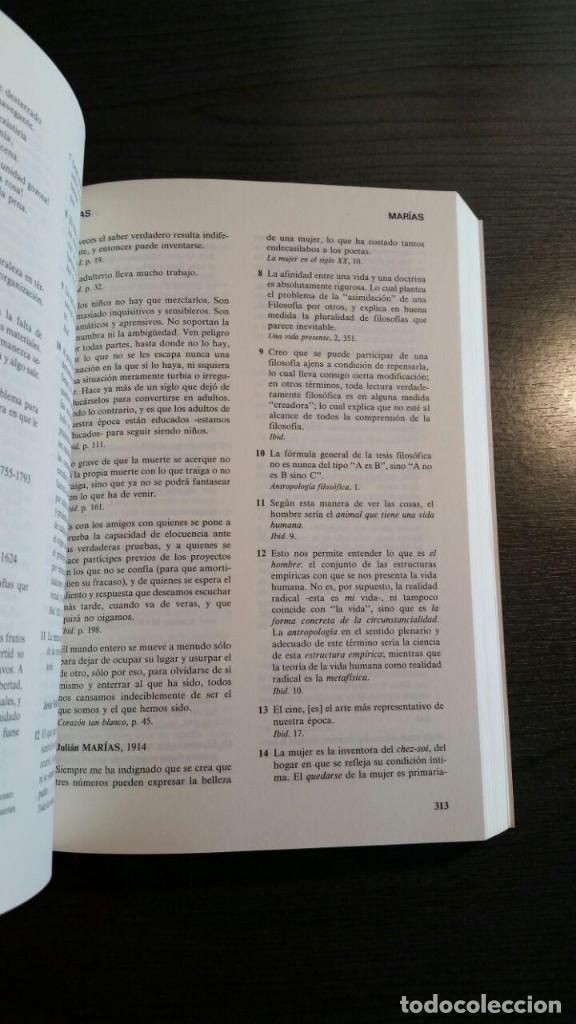 Libros de segunda mano: DICCIONARIO DE CITAS , EDITORIAL NOESIS, - Foto 4 - 162503470