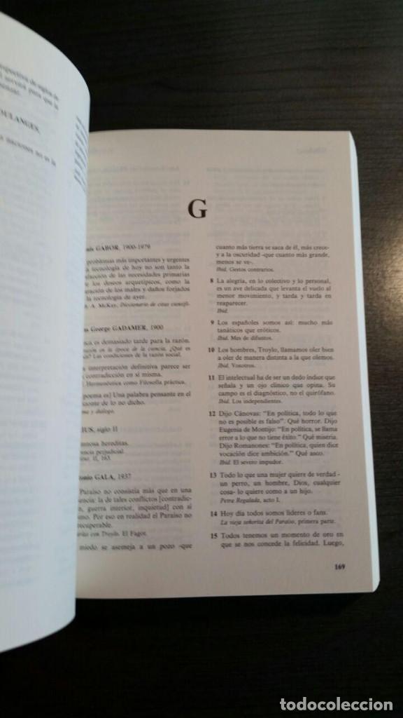 Libros de segunda mano: DICCIONARIO DE CITAS , EDITORIAL NOESIS, - Foto 7 - 162503470