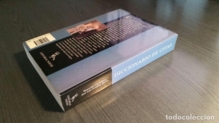 Libros de segunda mano: DICCIONARIO DE CITAS , EDITORIAL NOESIS, - Foto 8 - 162503470