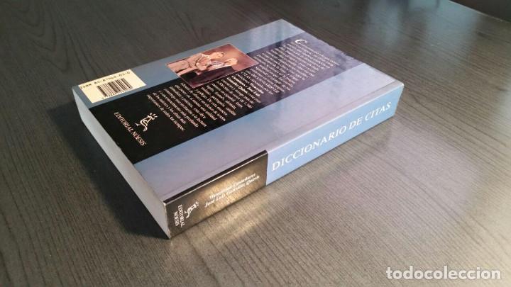 Libros de segunda mano: DICCIONARIO DE CITAS , EDITORIAL NOESIS, - Foto 10 - 162503470