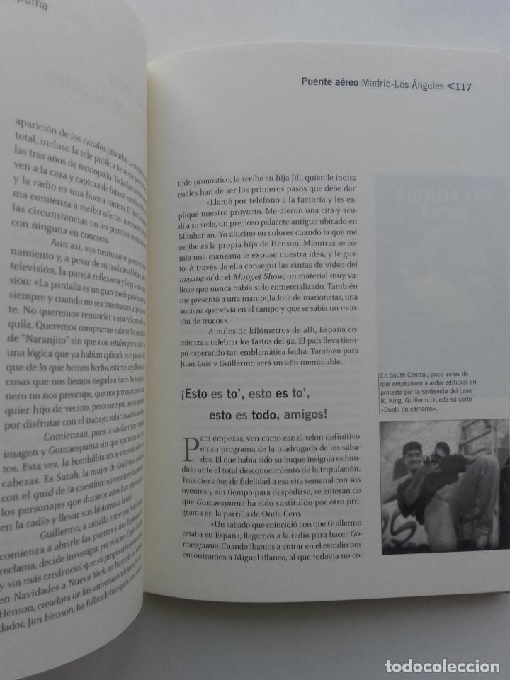 Libros de segunda mano: GOMAESPUMA 20 AÑOS - CURRA FERNÁNDEZ Y NURIA SERENA - Ed. aguilar - 2004 - Foto 5 - 162518022