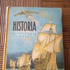 Libros de segunda mano: LIBRO HISTORIA UNIVERSAL EDELVIVES 1966 LIBRO ESCOLAR. Lote 162581001