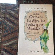 Libros de segunda mano: LAS CARTAS DE LOS ELFOS, LAS HADAS Y LOS DUENDES. TUATHER NA SIDHE. Lote 162588466