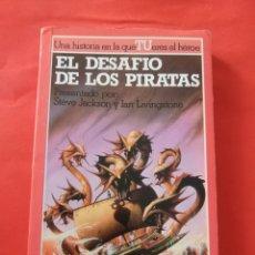 Libros de segunda mano: EL DESAFIO DE LOS PIRATAS . LUCHA FICCION 16 . ALTEA JUNIOR . LIBRO JUEGO . LIBROJUEGO 133. Lote 162672930