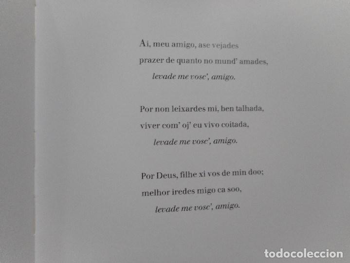 Libros de segunda mano: A. GARCÍA PATIÑO Cantigas de amigo Y93913 - Foto 4 - 162704214