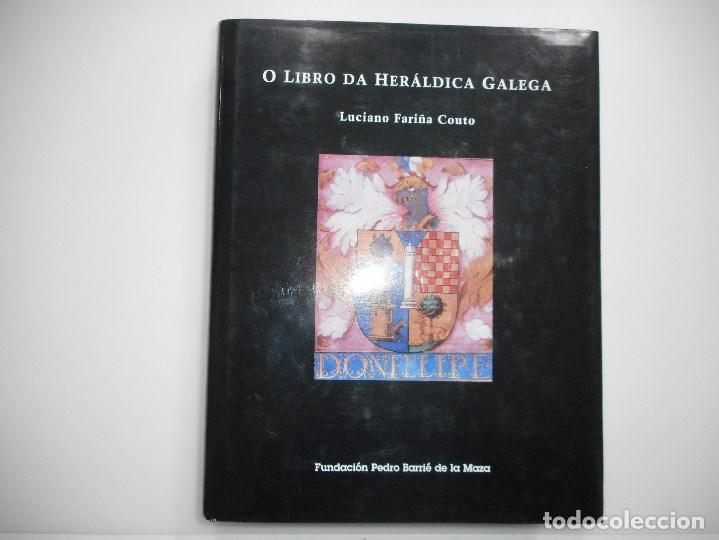 LUCIANO FARIÑA COUTO O LIBRO DA HERÁLDICA GALEGA Y93919 (Libros de Segunda Mano - Historia - Otros)