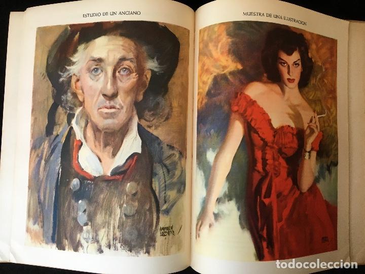 Libros de segunda mano: ILUSTRACION CREADORA - Andrew LOOMIS - MUY ILUSTRADO - HACHETTE - Foto 8 - 162715234