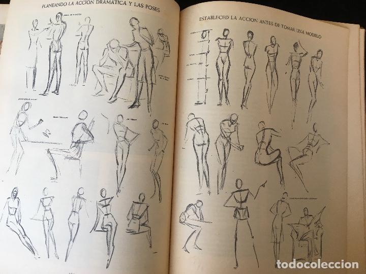 Libros de segunda mano: ILUSTRACION CREADORA - Andrew LOOMIS - MUY ILUSTRADO - HACHETTE - Foto 10 - 162715234