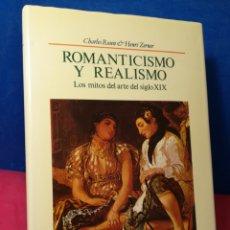 Libros de segunda mano: ROMANTICISMO Y REALISMO, LOS MITOS DEL ARTE DEL SIGLO XIX - ROSEN/ZERNER - HERMANN BLUME, 1988. Lote 162716518