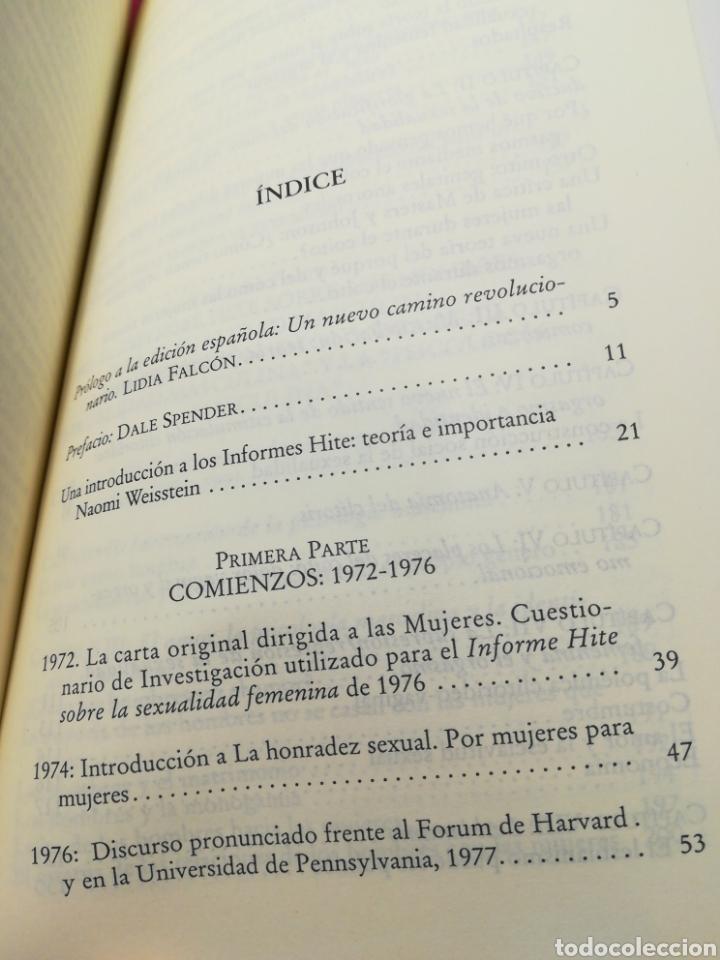 Libros de segunda mano: Las mujeres como agentes revolucionarias del cambio - Shere Hite - Vindicación Feminista, 2001 - Foto 5 - 162727366