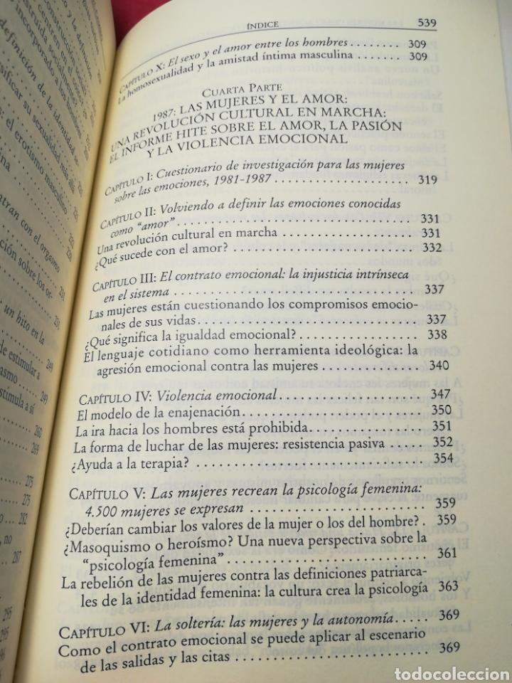 Libros de segunda mano: Las mujeres como agentes revolucionarias del cambio - Shere Hite - Vindicación Feminista, 2001 - Foto 7 - 162727366