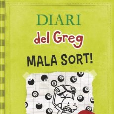 Libros de segunda mano: DIARI DEL GREG 8 MALA SORT! (CATALAN). Lote 162730366