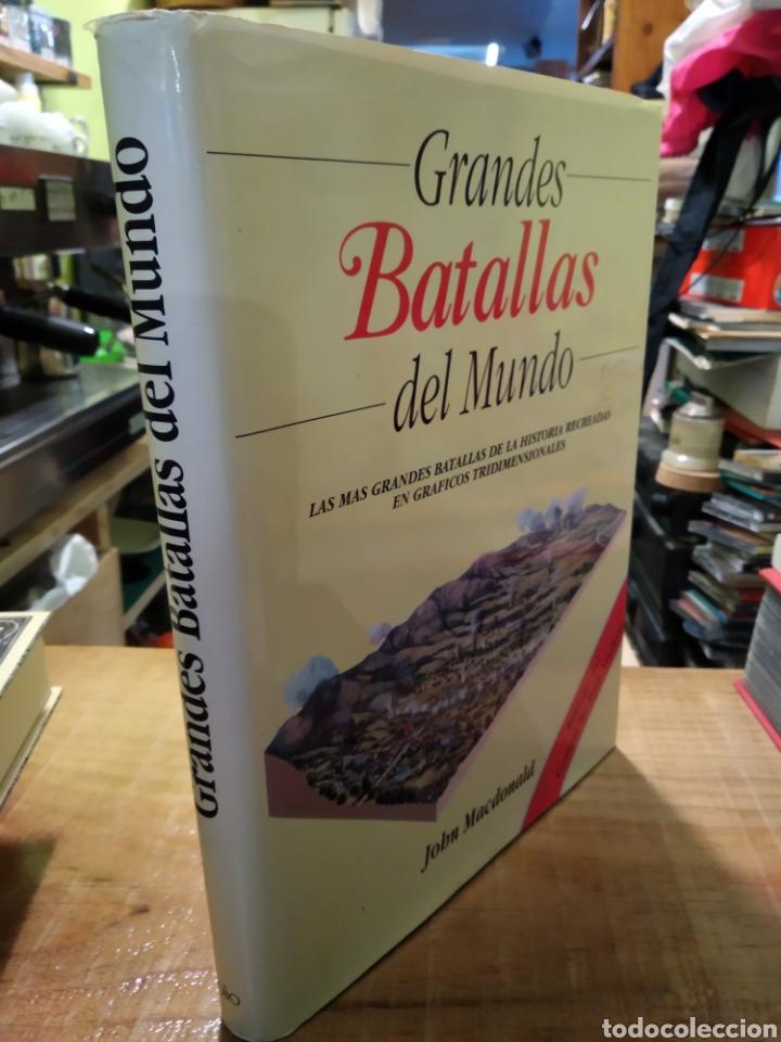 GRANDES BATALLAS DEL MUNDO. JOHN MACDONALD (Libros de Segunda Mano - Historia - Otros)