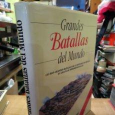 Libros de segunda mano: GRANDES BATALLAS DEL MUNDO. JOHN MACDONALD. Lote 162791392