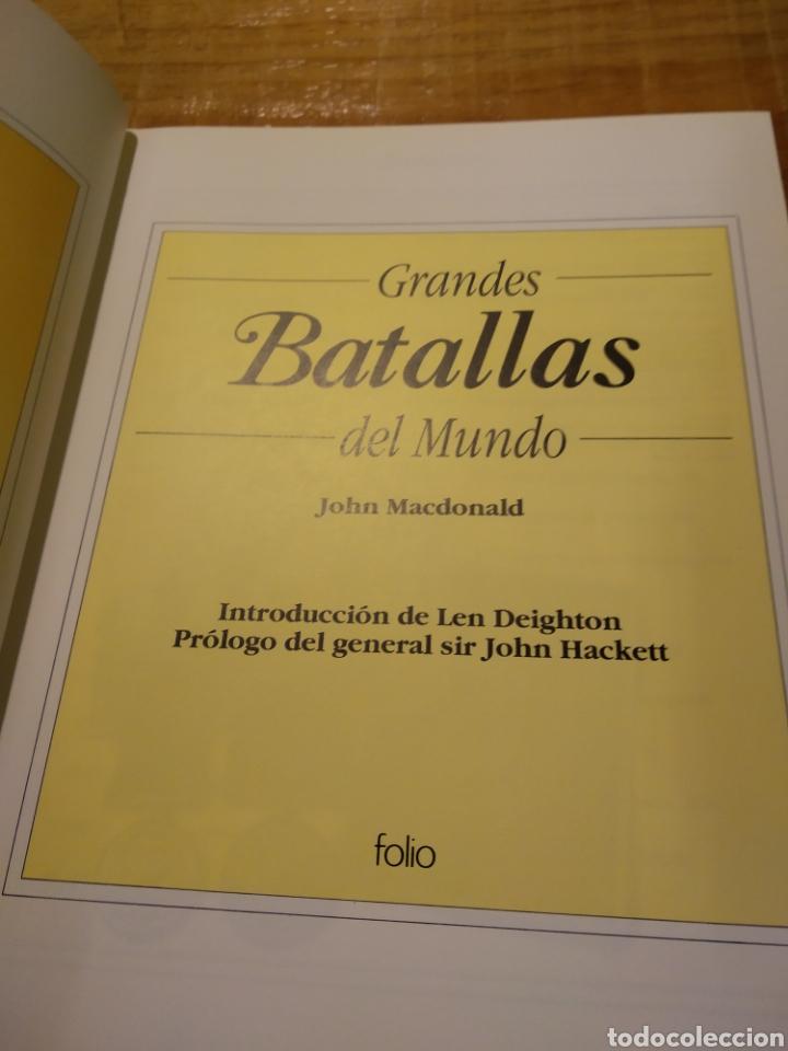 Libros de segunda mano: GRANDES BATALLAS DEL MUNDO. JOHN MACDONALD - Foto 2 - 162791392