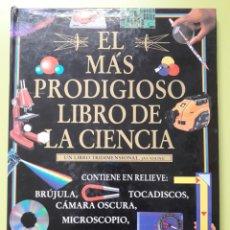 Libros de segunda mano: EL MÁS PRODIGIOSO LIBRO DE LA CIENCIA. Lote 162915502