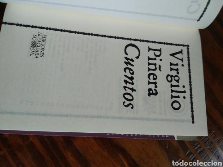 Libros de segunda mano: VIRGILIO PIÑERA. CUENTOS - Foto 2 - 162931416
