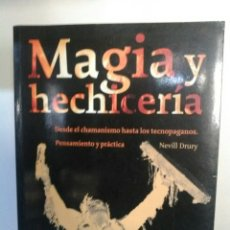 Libros de segunda mano: MAGIA Y HECHICERIA. Lote 162931885