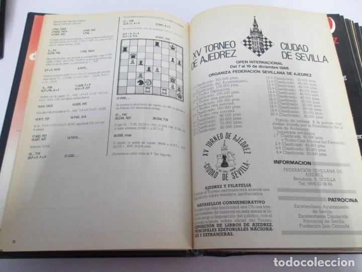 Libros de segunda mano: OCHO X OCHO. REVISTA PRACTICA DE AJEDREZ. OCTUBRE 1986 Nº 55 A SEPTIEMBRE 1989 Nº 90. - Foto 12 - 162946038