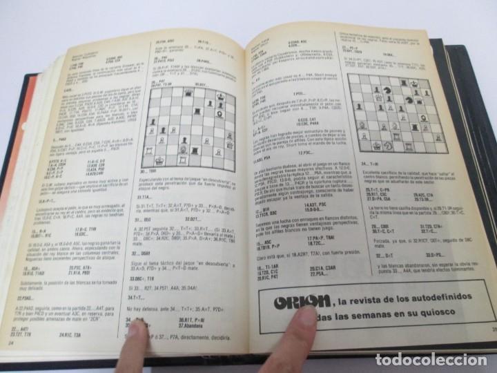 Libros de segunda mano: OCHO X OCHO. REVISTA PRACTICA DE AJEDREZ. OCTUBRE 1986 Nº 55 A SEPTIEMBRE 1989 Nº 90. - Foto 22 - 162946038