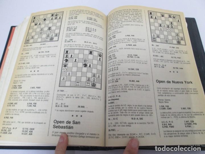 Libros de segunda mano: OCHO X OCHO. REVISTA PRACTICA DE AJEDREZ. OCTUBRE 1986 Nº 55 A SEPTIEMBRE 1989 Nº 90. - Foto 28 - 162946038