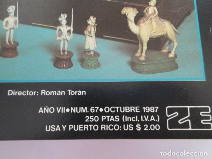 Libros de segunda mano: OCHO X OCHO. REVISTA PRACTICA DE AJEDREZ. OCTUBRE 1986 Nº 55 A SEPTIEMBRE 1989 Nº 90. - Foto 37 - 162946038
