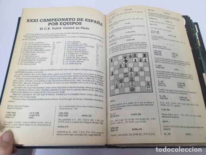 Libros de segunda mano: OCHO X OCHO. REVISTA PRACTICA DE AJEDREZ. OCTUBRE 1986 Nº 55 A SEPTIEMBRE 1989 Nº 90. - Foto 40 - 162946038