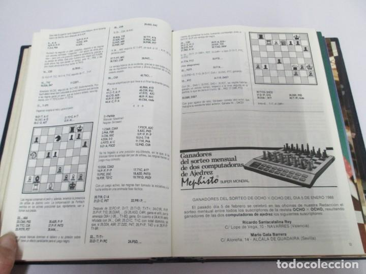 Libros de segunda mano: OCHO X OCHO. REVISTA PRACTICA DE AJEDREZ. OCTUBRE 1986 Nº 55 A SEPTIEMBRE 1989 Nº 90. - Foto 46 - 162946038