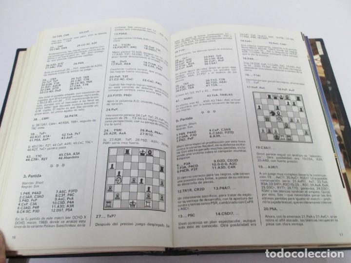 Libros de segunda mano: OCHO X OCHO. REVISTA PRACTICA DE AJEDREZ. OCTUBRE 1986 Nº 55 A SEPTIEMBRE 1989 Nº 90. - Foto 50 - 162946038