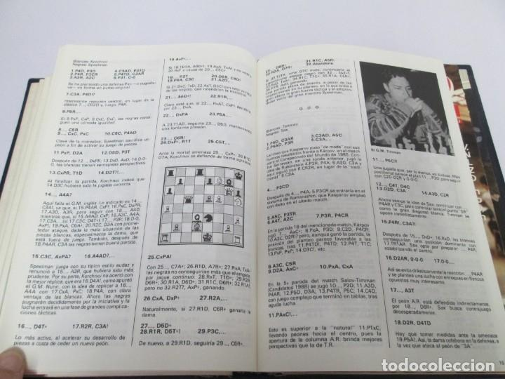 Libros de segunda mano: OCHO X OCHO. REVISTA PRACTICA DE AJEDREZ. OCTUBRE 1986 Nº 55 A SEPTIEMBRE 1989 Nº 90. - Foto 54 - 162946038