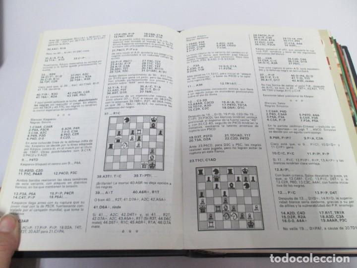 Libros de segunda mano: OCHO X OCHO. REVISTA PRACTICA DE AJEDREZ. OCTUBRE 1986 Nº 55 A SEPTIEMBRE 1989 Nº 90. - Foto 64 - 162946038
