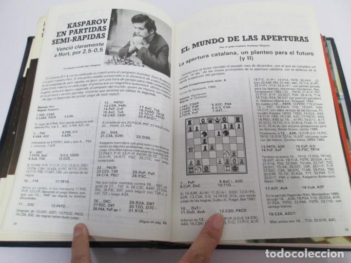 Libros de segunda mano: OCHO X OCHO. REVISTA PRACTICA DE AJEDREZ. OCTUBRE 1986 Nº 55 A SEPTIEMBRE 1989 Nº 90. - Foto 70 - 162946038