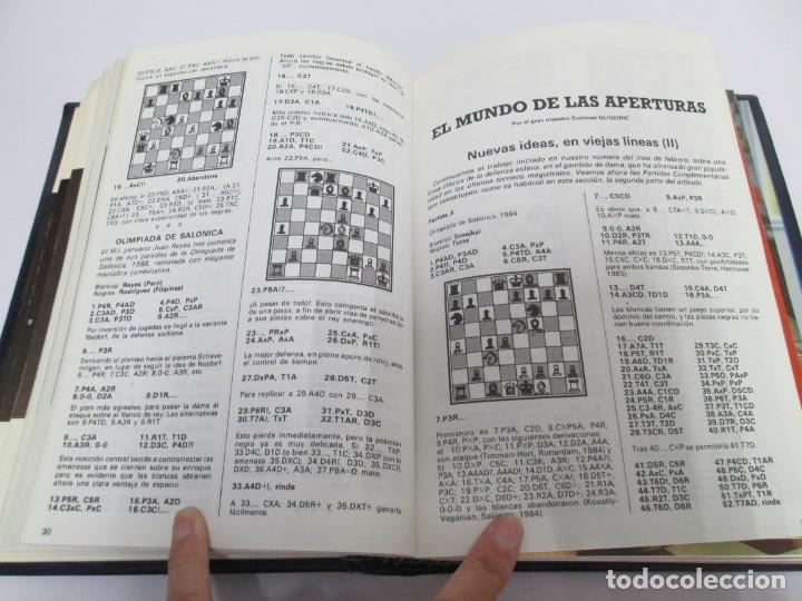 Libros de segunda mano: OCHO X OCHO. REVISTA PRACTICA DE AJEDREZ. OCTUBRE 1986 Nº 55 A SEPTIEMBRE 1989 Nº 90. - Foto 74 - 162946038