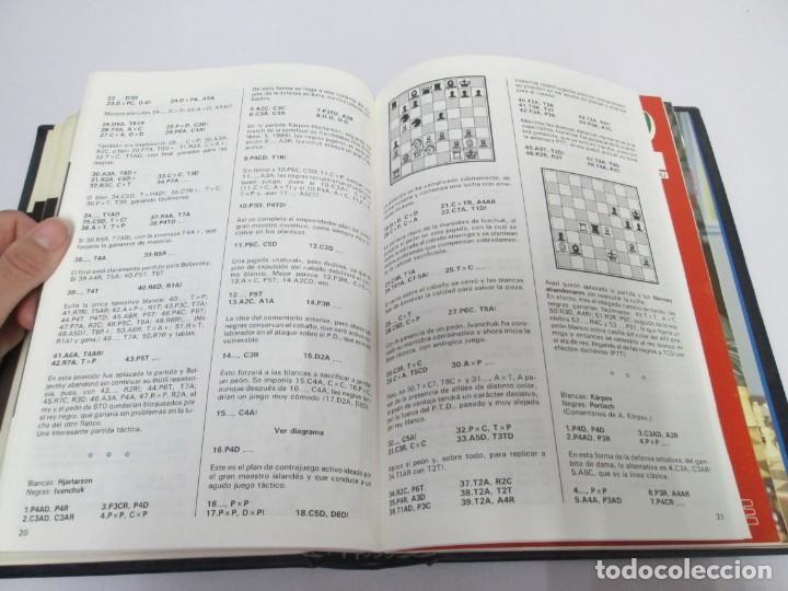 Libros de segunda mano: OCHO X OCHO. REVISTA PRACTICA DE AJEDREZ. OCTUBRE 1986 Nº 55 A SEPTIEMBRE 1989 Nº 90. - Foto 76 - 162946038