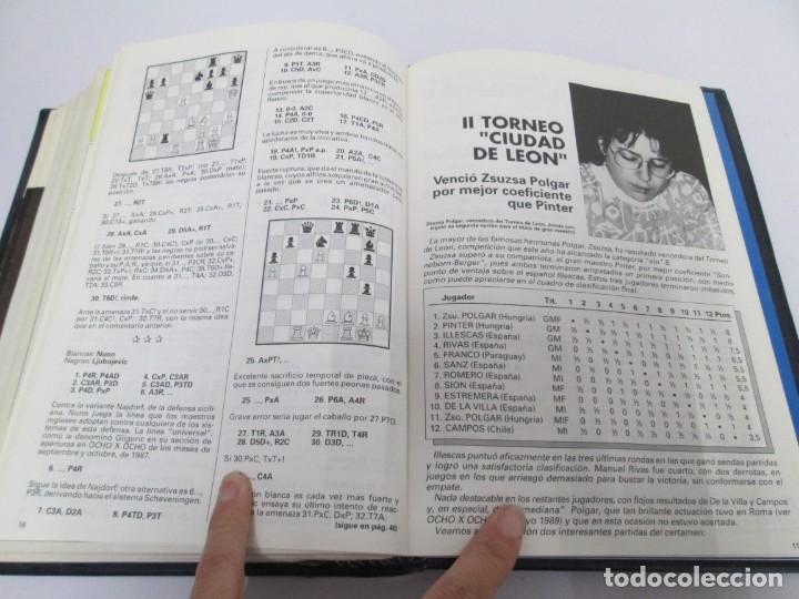 Libros de segunda mano: OCHO X OCHO. REVISTA PRACTICA DE AJEDREZ. OCTUBRE 1986 Nº 55 A SEPTIEMBRE 1989 Nº 90. - Foto 84 - 162946038