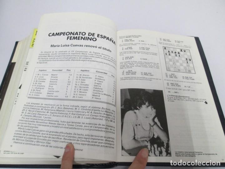 Libros de segunda mano: OCHO X OCHO. REVISTA PRACTICA DE AJEDREZ. OCTUBRE 1986 Nº 55 A SEPTIEMBRE 1989 Nº 90. - Foto 86 - 162946038