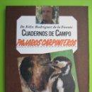 Libros de segunda mano: CUADERNO DE CAMPO DE FELIZ RODRÍGUEZ DE LA FUENTE. Lote 163142294