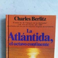 Libros de segunda mano: LA ATLÁNTIDA EL OCTAVO CONTINENTE. Lote 163235569