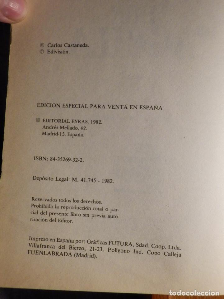 Libros de segunda mano: Carlos Castaneda - El Don del Aguila - Eyras 1982 - - Foto 3 - 163302118