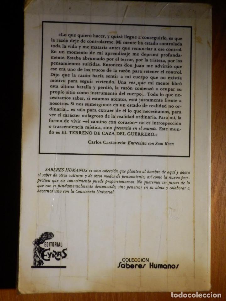Libros de segunda mano: Carlos Castaneda - El Don del Aguila - Eyras 1982 - - Foto 4 - 163302118