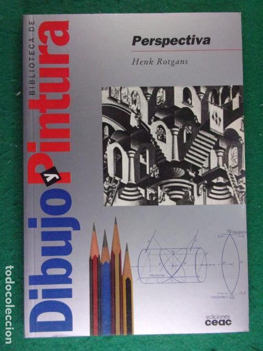 PERSPECTIVA / HENK ROTGANS / 1997. CEAC / (DIBUJO) (Libros de Segunda Mano - Ciencias, Manuales y Oficios - Otros)