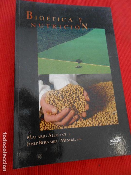 BIOETICA Y NUTRICION (Libros de Segunda Mano - Ciencias, Manuales y Oficios - Otros)