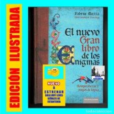 Libros de segunda mano: EL NUEVO GRAN LIBRO DE LOS ENIGMAS ROMPECABEZAS Y JUEGOS DE LÓGICA - FABRICE MAZZA CÍRCULO LECTORES. Lote 163347106