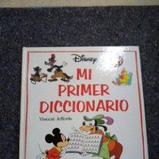 Libros de segunda mano: MI PRIMER DICCIONARIO - VINCENT JEFFERDS - WALT DISNEY - D8. Lote 163387910