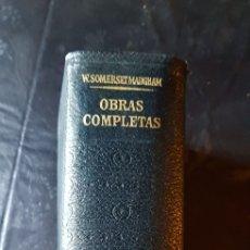 Libros de segunda mano: OBRAS COMPLETAS SOMERSET MAUGHAM. Lote 163392025