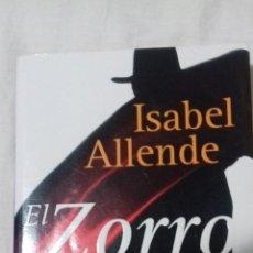 Libros de segunda mano: EL ZORRO. ISABEL ALLENDE.. Lote 163397106