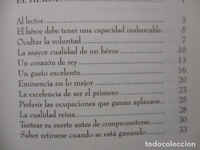 Libros de segunda mano: EL HOMBRE EN SU PERFECCIÓN / BALTASAR GRACIAN / SABER PARA VIVIR / ED. TEMAS DE HOY 1996 - Foto 10 - 163415342