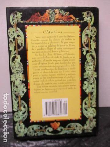 Libros de segunda mano: EL HOMBRE EN SU PERFECCIÓN / BALTASAR GRACIAN / SABER PARA VIVIR / ED. TEMAS DE HOY 1996 - Foto 15 - 163415342