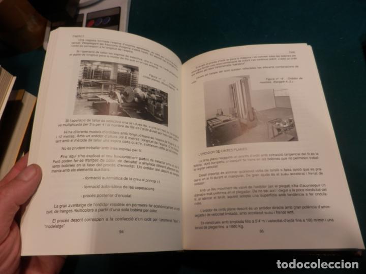 Libros de segunda mano: TISSATGE, ASPECTES DESCRIPTIUS I DANÀLISI EN EL PROCÉS DE TEIXIR + MÈTODES DE TREBALL - 2 LIBROS - Foto 6 - 163442374