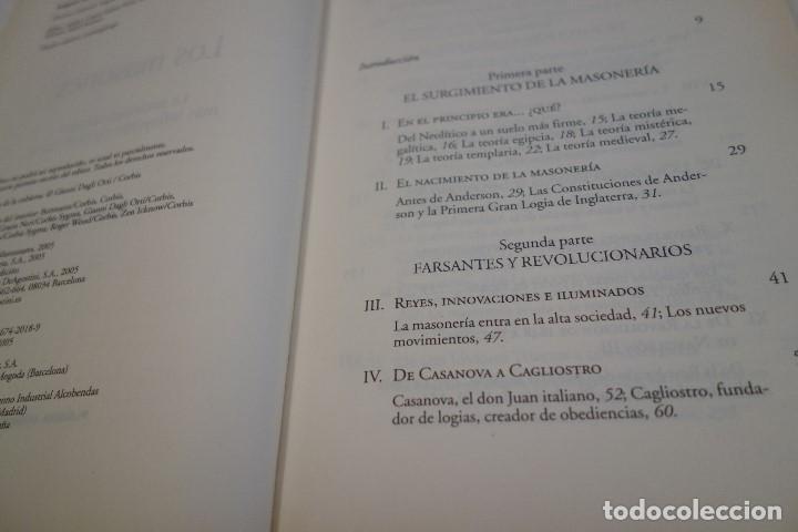 Libros de segunda mano: LOS MASONES. CÉSAR VIDAL. ENIGMAS HISTÓRICOS AL DESCUBIERTO. - Foto 2 - 163457822